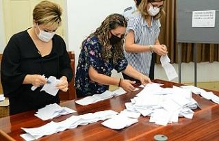Kuzey Kıbrıs'ta seçimin ikinci turu için oy...