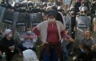 Ordu Ünye'de maden protestosu: En az 20 gözaltı