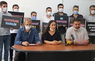 Van'da Gazetecilerin tutuklanmasına tepki: Gerçeği...