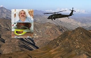 Van'da helikopter olayının araştırılması...
