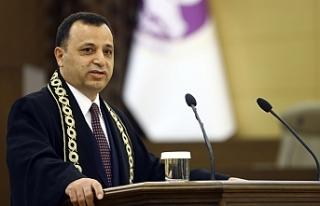 AYM Başkanı Arslan'dan 'masumiyet karinesi'...
