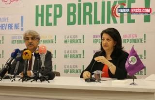 HDP Eş Genel Başkanlarından Biden'e kutlama mesajı