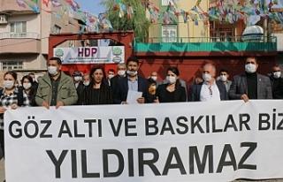 HDP Cizre ilçe örgütünden gözaltılara tepki:...