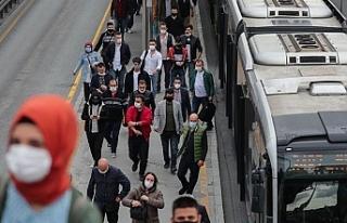 İstanbul'da koronavirüsü riski en yoğun işçi...