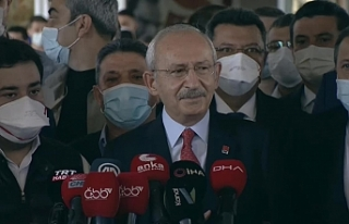 Kılıçdaroğlu: Beni duygulandıran telefon Sayın...
