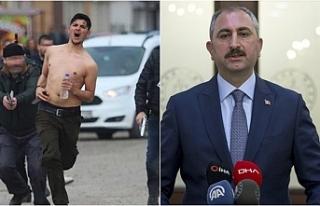 Polisin beraat kararını görmeyen Adalet Bakanı'ndan...