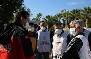 TTB'den depremzedelere dayanışma ziyareti
