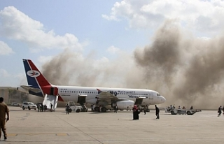 Yemen havalimanında patlama: 27 ölü