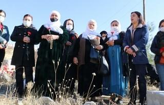 3 Kürt kadın siyasetçi mezarları başında anıldı