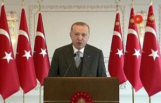 AKP'li Erdoğan köprü açılışında muhalefeti...