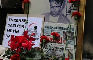 Katledilen Evrensel Gazetesi muhabiri Metin Göktepe...