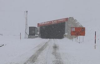 Van'da 3 noktada çığ tehlikesi: Kar tünelleri...