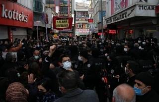 Van'da ulusal birlik açıklamasına polis ablukası