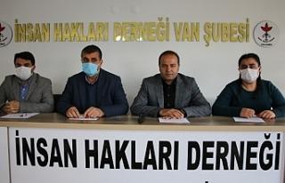 Van'da geçen yıl 2 bin 410 hak ihlali yaşandı