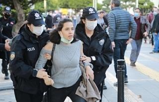 Adana'da Boğaziçi dayanışma eylemine müdahale:...