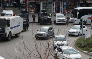 Batman'da HDP il ve ilçe eşbaşkanları gözaltına...