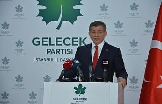 Davutoğlu: Erdoğan ve Bahçeli bırakın devleti...