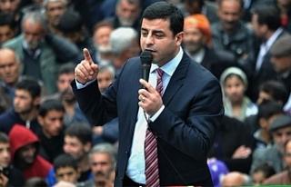 Demirtaş'tan Garê açıklaması: Sorumluluğu...