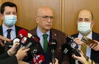 Enis Berberoğlu, yaklaşık 8 ay sonra yeniden Meclis'e...
