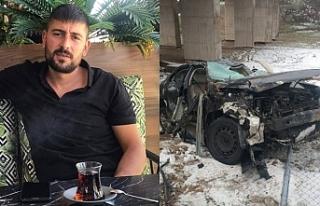 36 yaşındaki Ercişli genç trafik kazasında...