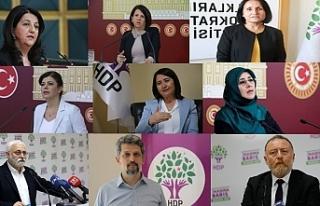 HDP'li 9 siyasetçiye Kobanê fezlekesi