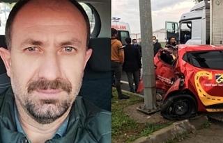 Kazada ağır yaralanan Vanlı yurttaş hayatını...