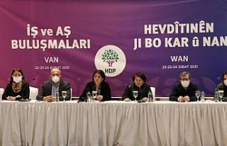 Van'da HDP, KHK'lilerin sorunlarını dinledi