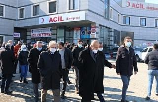 Van'da HDP'den Akbaşlı'nın ailesine ziyaret