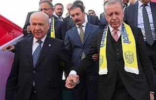 AKP'nin hazırladığı çalışmada MHP'nin...