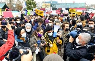 Boğaziçi Üniversitesi öğrencilerinin duruşması...