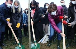 Buldan '8 Mart Hatıra Ormanı' açılışına...