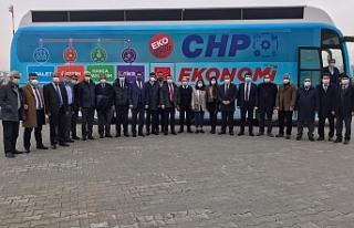 CHP Heyeti Van'da temaslarda bulundu