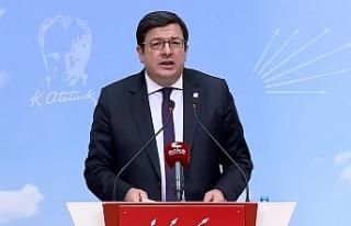CHP'li Erkek: Saray iktidarı, lebalep hukuksuzluk...