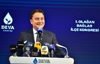 DEVA Genel Başkanı Babacan: Anadille, kimlikle kavga...