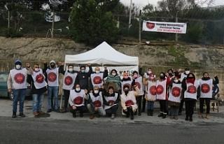Direnişteki 22 Migros depo işçisi gözaltına alındı