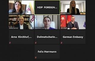 HDP, Almanya AB Bakanı Micheal Roth ile görüştü