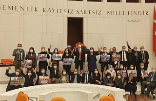 HDP Grubu Genel Kurul'da oturma eylemi başlattı:...
