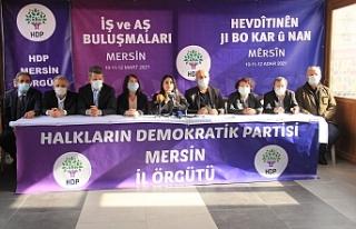 HDP: Halk yoksullaşırken iktidar çevresi zenginleşti