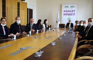 HDP'nin 'Adalet Nöbeti' ikinci gününde