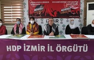 İzmir'deki Newroz'a katılım çağrısı
