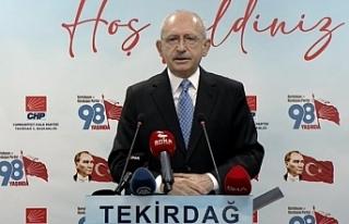 Kılıçdaroğl: Siyasi partilerin kapatılması gibi...