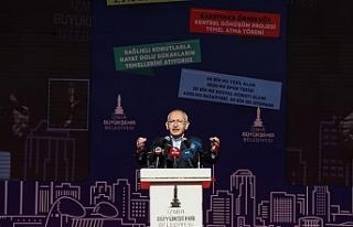 Kılıçdaroğlu: Türkiye'yi değiştireceğiz,...