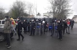 Migros işçilerine müdahale: 16 gözaltı