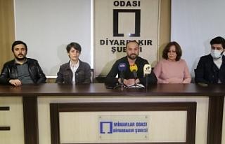 Mimarlar Odası: Diyarbakır'da kent suçu işleniyor