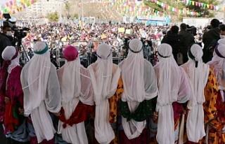 Diyarbakır'da kadınlar alanlara sığmadı