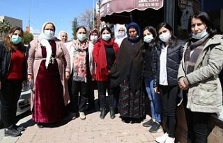 Şırnaklı kadınlar Emine Şenyaşar'ı ziyaret...