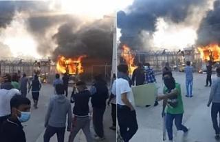 Tutukluluğu protesto eden Kürt mülteci yaşamına...
