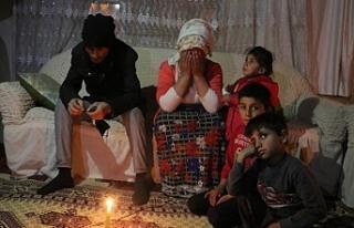Van'da Soğuk havada 40 gündür elektriksizler