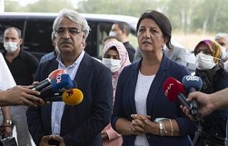 Buldan ve Sancar'dan Gergerlioğlu açıklaması