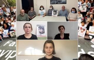 Cumartesi Anneleri gözaltında kaybedilen Talat Türkoğlu'nun...